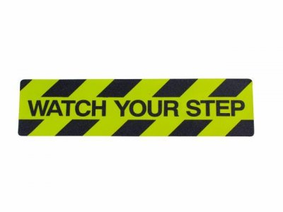 """Watch your Step"" Tape"